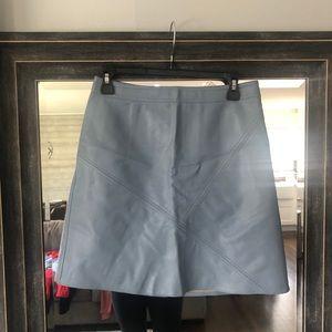 Baby Blue Zara Mini Skirt